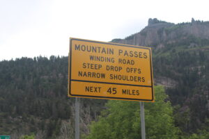 Mountain Pass Sign