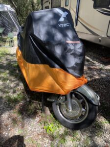 Front View Motorcycle Cover
