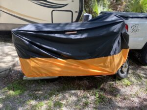 Side View Motorcycle Cover